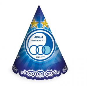 کلاه ساده اکلیلی تم تولد استقلال (Esteghlal)
