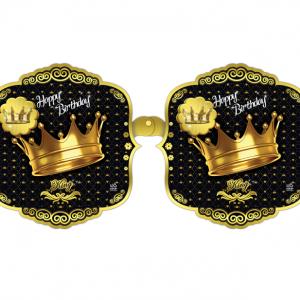 ریسه تولد برجسته تم تاج طلایی (Gold Crown)