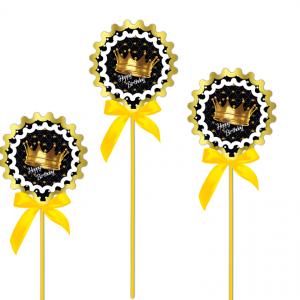 تاپریایادبودتم تولد تاج طلایی (Gold Crown)
