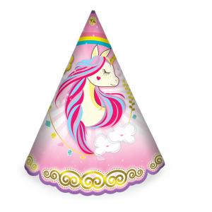 کلاه ساده تم تولد اسب شاخدار
