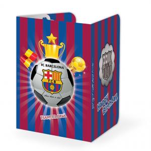 کارت دعوت تم تولد بارسلونا (Barcelona)