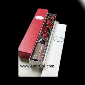 باکس گل بلند کد 103