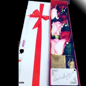 باکس گل بلند کد 104