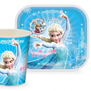 0002912   300x300 - پیش دستی و لیوان تم تولد دخترانه فروزن (Frozen)