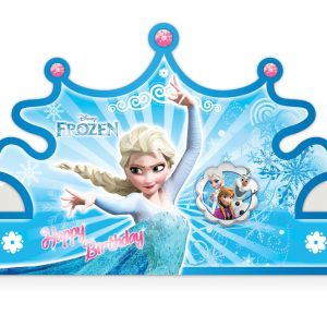 تاج اکلیلی تم تولد فروزن (Frozen)