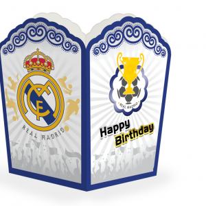 ظرف پاپ کرن تم تولد رئال مادرید (Real Madrid)