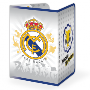 کارت دعوت تم تولد رئال مادرید (Real Madrid)