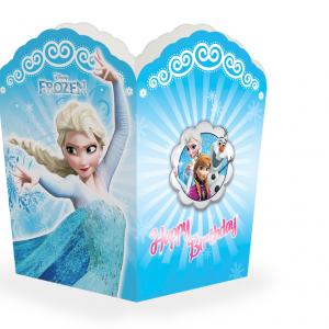 ظرف پاپ کرن تم تولددخترانه فروزن (Frozen)