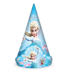 کلاه تاجدار تم تولد دخترانه فروزن (Frozen)
