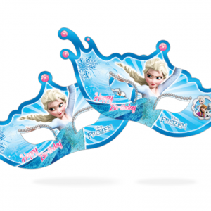 عینک بالماسکه اکلیلی تم تولد فروزن (Frozen)